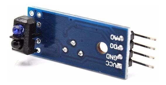 Sensor De Linha Infravermelho Ir Tcrt5000 + Código Arduino