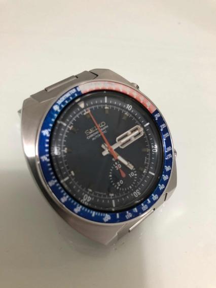 Relógio Seiko - Automático - Lua - Cronógrafo - Pogue