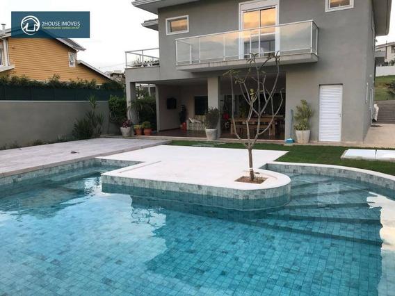 Casa Com 4 Dormitórios À Venda, 320 M² Por R$ 1.400.000 - Reserva Da Serra - Jundiaí/sp - Ca2968