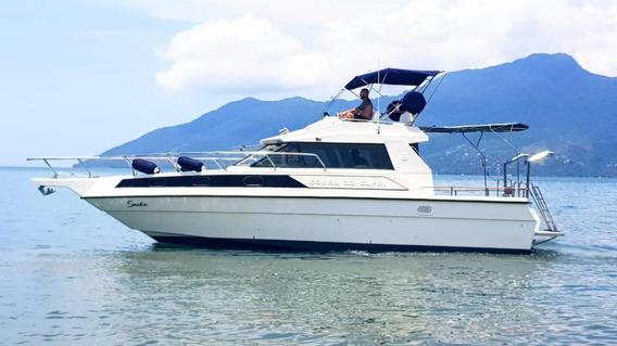 Barco Lancha Cobra Capri 32 Fly - Oportunidade Única!!!