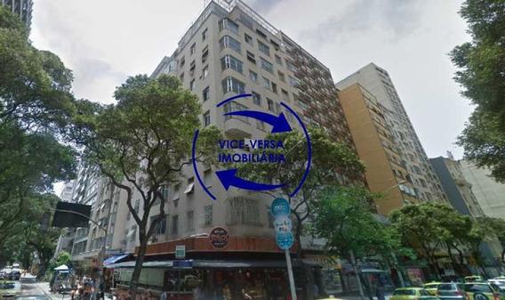 Apartamento 3 Quartos, Com Dependências Completas, À Venda Em Copacabana, Posto 5 - Rua Xavier Da Silveira, A Uma Quadra Da Praia, Próximo De Tudo. Ideal Para Investidores! - 1363