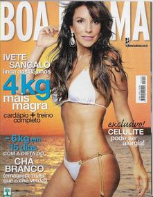 Revista Boa Forma 252 Ivete Sangalo Com 35 Anos - Ano 2008