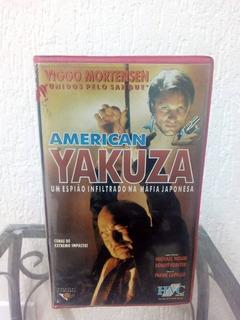Vhs Fita Filme American Yakuza (legendado)