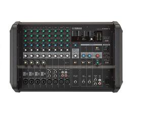 Mesa De Som Analógica Amplificada Emx5 Yamaha - 12 Canais