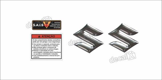Adesivos Etiquetas De Advertência Kit Tanque Moto Suzuki Bandit Antiga Bdt008 Frete Fixo Fgc