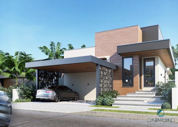 Casa Térrea Condomínio Terras De Atibaia 1 Ca-476