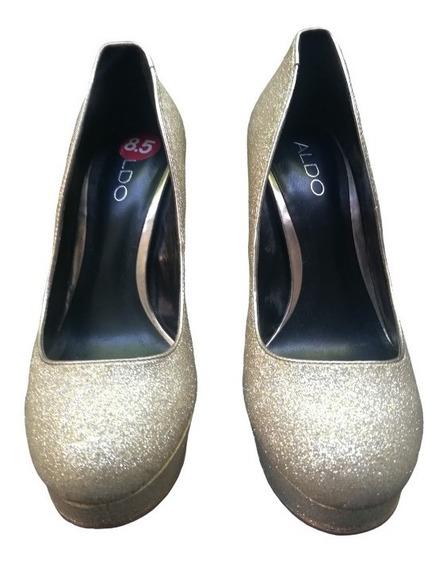 Oportunidad!! Zapatos De Fiesta Aldo Talle 39 Usa