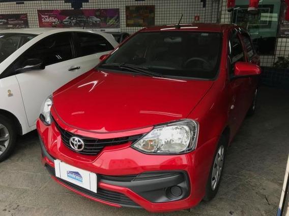 Toyota Etios 1.3 16v X Automático 2018