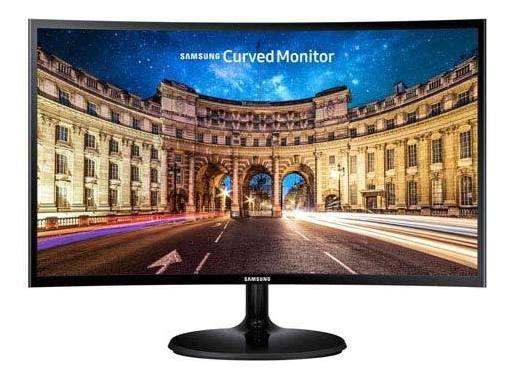 Monitor 27 Samsung Led Curvo Full Hd - Lc27f390fhlmzd