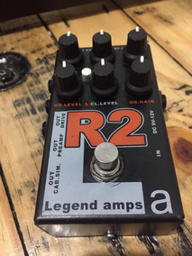 Pedal R2 Legends Amps Da Amt