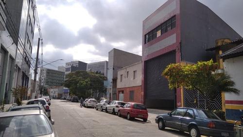 Imagem 1 de 9 de Galpão Para Alugar, 500 M² Por R$ 15.000,00/mês - Canindé - São Paulo/sp - Ga0243