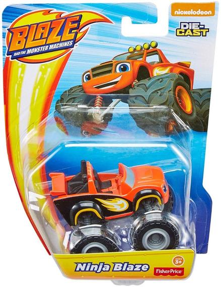 Carro Ninja Blaze De Blaze And The Monster Machine 8cm