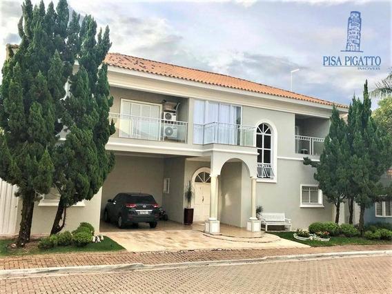Casa Com 4 Dormitórios À Venda, 420 M² Por R$ 1.590.000,00 - Morumbi - Paulínia/sp - Ca1501