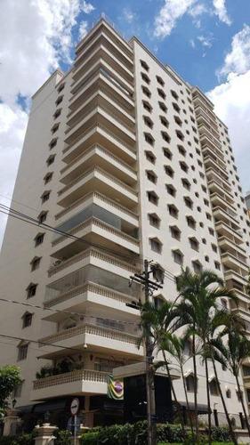 Apartamento Com 4 Dormitórios À Venda, 303 M² Por R$ 1.490.000,00 - Cambuí - Campinas/sp - Ap3335