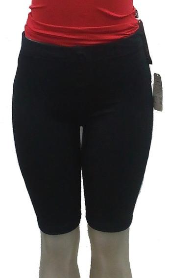 Bermuda Feminina Cotton Algodão Grosso Gg Plus Size Lisa