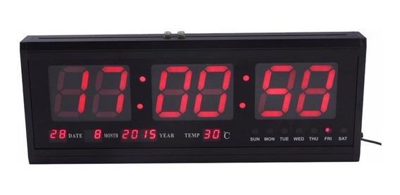 Reloj De Pared Digital Led Grande