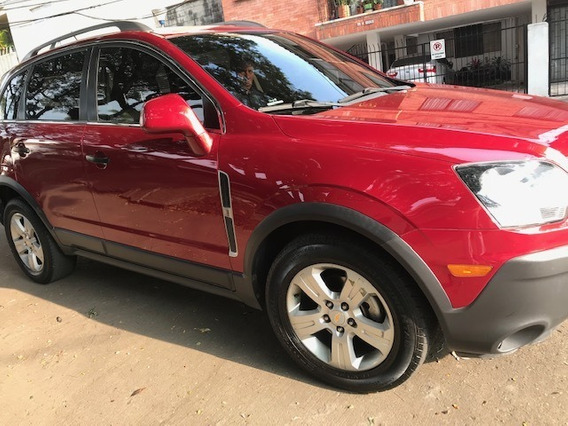 Chevrolet Captiva 2.4 Modelo 2015 Rojo Cristal 5 Puertas