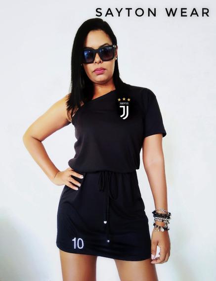 Vestido Feminino Da Juventus