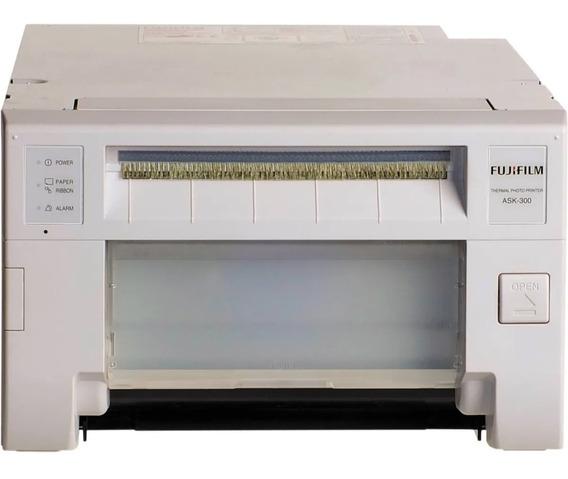 Impressora Fotográfica Fujifilm Ask300 + Rainbow 600 Fotos