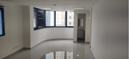 Cj0726 - Conjunto Para Alugar, 39 M² Por R$ 1.300/mês - Moema - São Paulo/sp - Cj0726