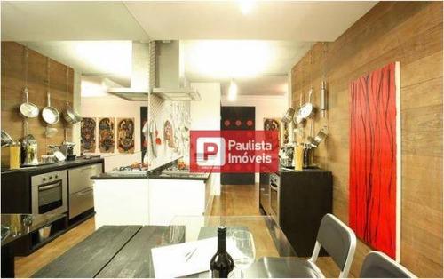 Apartamento Com 1 Dormitório À Venda, 70 M² - Campo Belo - São Paulo/sp - Ap24729