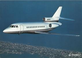 Poster De Avião Falcon 900b