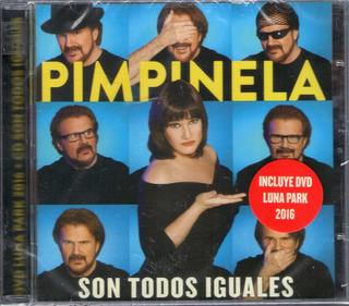 Pimpinela Son Todos Iguales Vivo Luna Park Cd+dvd Sy