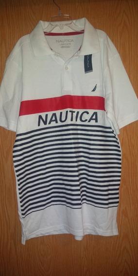 Playera Nautica Original Hombre