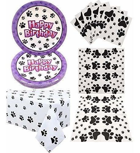 Puppy Paw Patrol - Decoraciones Para Fiesta De Cumpleaños, P