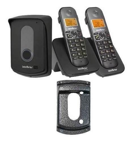 Tis 5010 Interfone E Telefone Com Ramal E Protetor Intelbras
