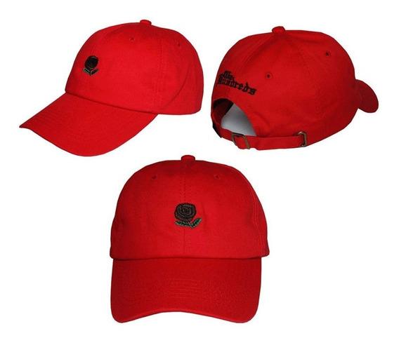 Boné The Hundred Aba Curva Rose Dad Hat Pronta Entrega Bege