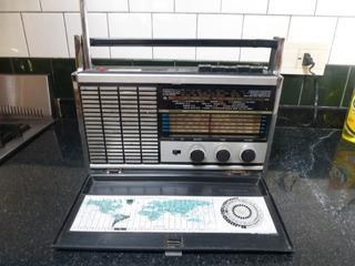 Radio Am Tonomac Superplatino 6 Bandas Funciona 32 X 11 X 26