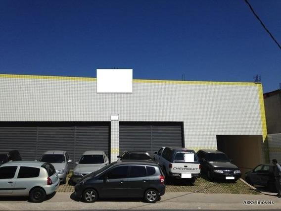 Galpão Comercial Para Locação, Jardim Marilu, Carapicuíba - Ga0061. - Ga0061