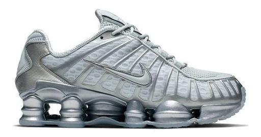 Nike Shox Tl 12 Molas Cinza