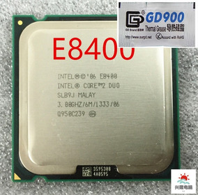 Core 2 Duo E8400 =e5800e6700,e7500,e8500,e8600 +pasta(=mx-4)