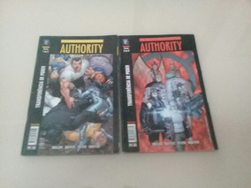 Lote C/ 2 Gibis Authority Partes 1 De 2 E 2 De 2 Media Pixel