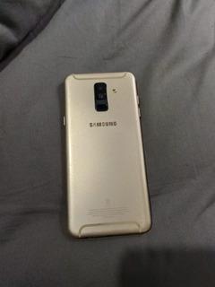 Celular Samsung A6+ Plus Somente Com Tela Quebrada