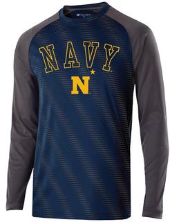 Camiseta Manga Larga Ncaa Equipo. Navy Midshipmen