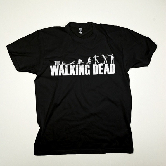 Camiseta The Walking Dead: Evolution