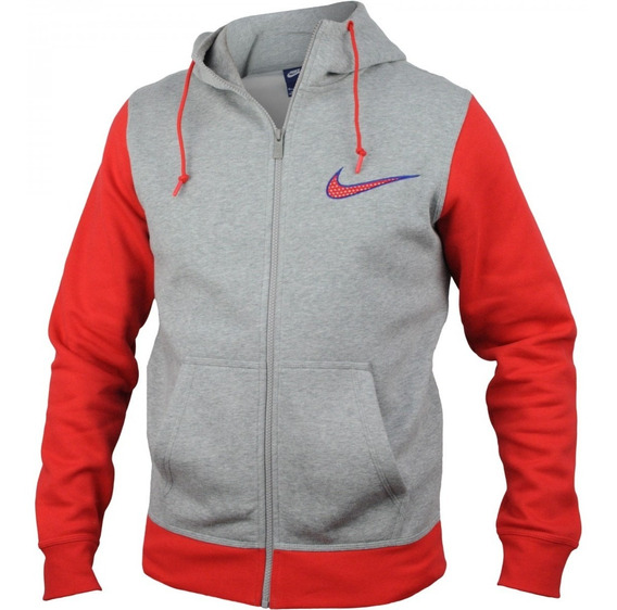 Jaqueta Masculina Nike Club Fleece Swoosh Full 727757 | Katy
