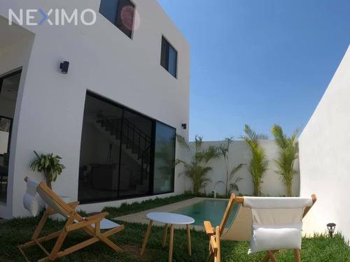 Imagen 1 de 16 de Casa Con Piscina En Zona Norte De Mérida Yucatán En Preventa