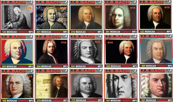 Johann Sebastian Bach Discografia 174 Cd 3.666 Músicas