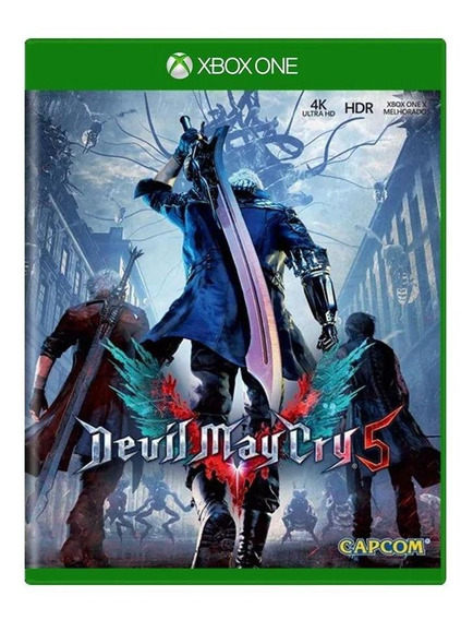 Devil May Cry 5 Xbox One Mídia Física Pronta Entrega
