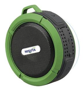 Nisuta Parlante Portatil Bluetooth Con Sopapa Ns-pa62 Cuotas