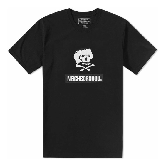 Playera De Cuello Redondo Neighborhood Skull & Bones