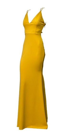 Vestido Amarillo Mostaza - Vestidos en Mercado Libre México