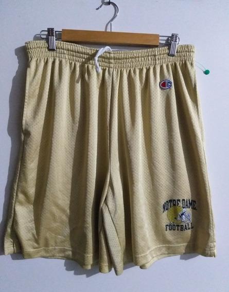 Pantalón Corto Irish Notre Dame Champion Dorado!!