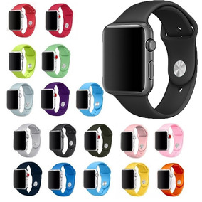 Pulseira Borracha Sport Apple Watch 38mm 42mm 40mm 44mm 3 4