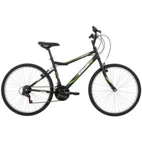 Bicicleta Caloi Twister T18 Aro 26 21 Marchas V-brake Preto