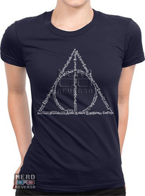 Baby Look Harry Potter Deathly Hallows Feitiços Magias Geeks